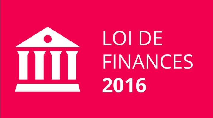 Tout savoir sur la Loi de Finances 2016