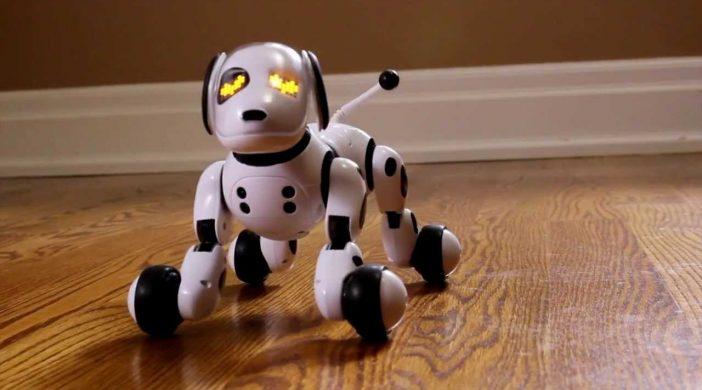 Idée cadeau de noël pour les enfants le robot interactif Zoomer
