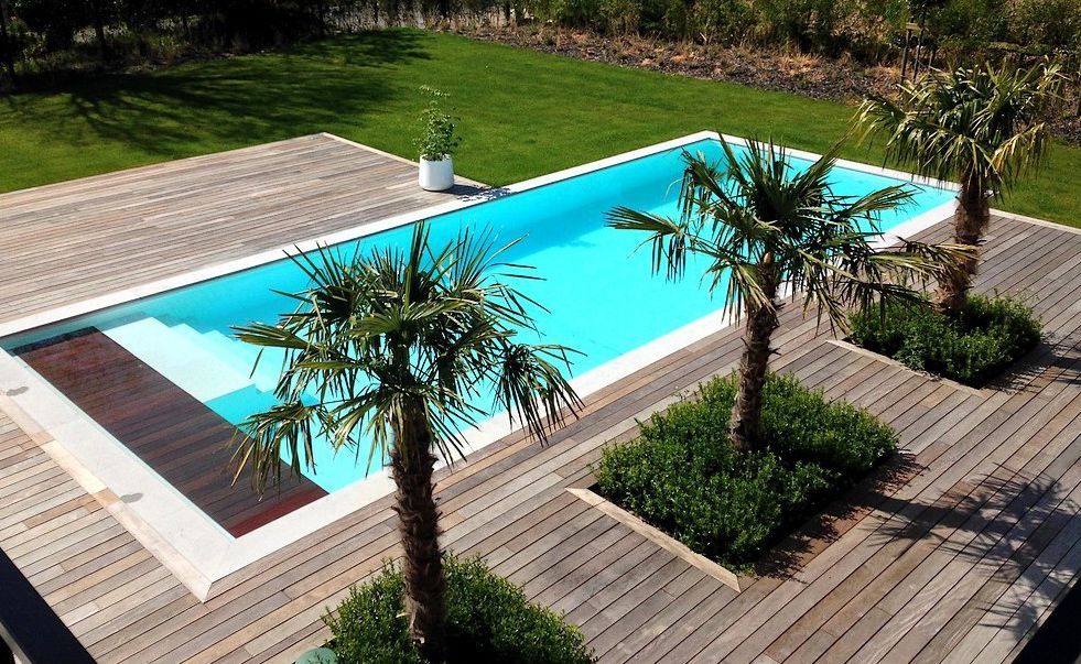 Comment faire construire une piscine enterr e for Prix construction piscine