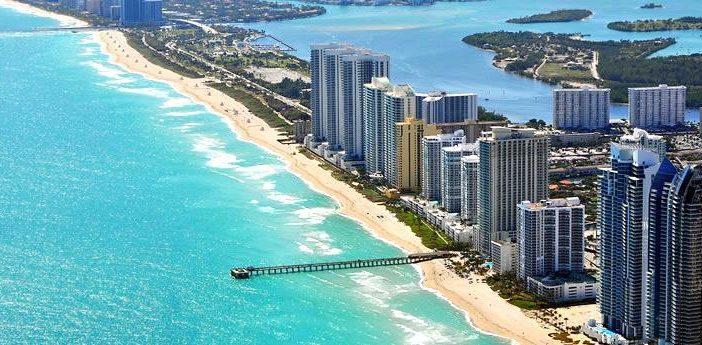 une liste d'appartements sur front de mer à vendre en Floride