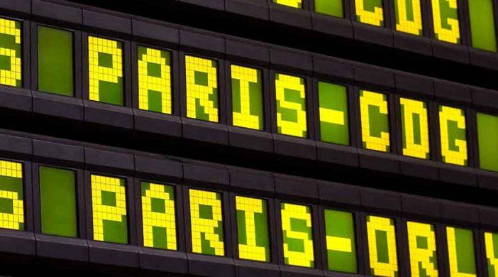trajet Vtc vers les aéroports parisiens